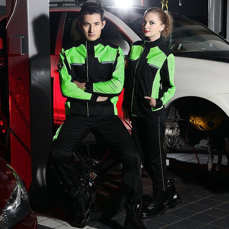 Aliexpress.com : Buy SET OF COAT+PANTS 4S car service uniform auto ...
