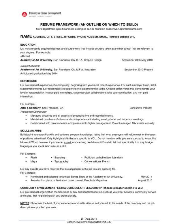 28+ [ Most Successful Resume Template ] | The Most Elegant ...