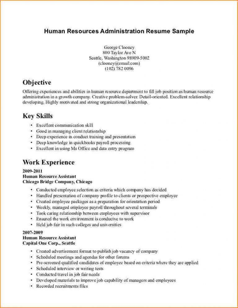 how to make resume without work experience