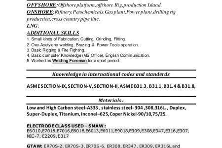 resume resume examples welding resume objective: welding resume ...