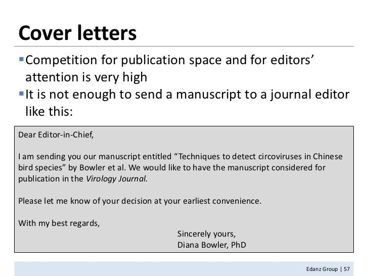 cover letter to the journal editor 80. packages journal template ...