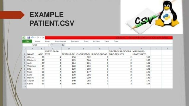 Csv file read and write