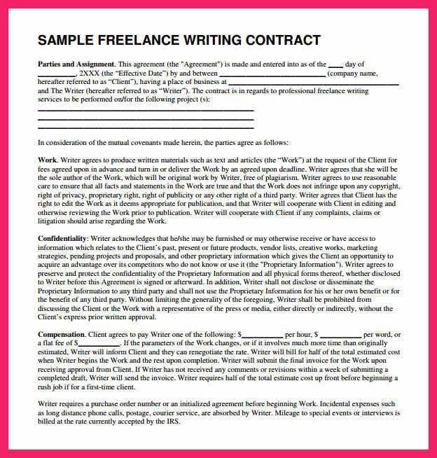 freelance proposal template   bio letter format