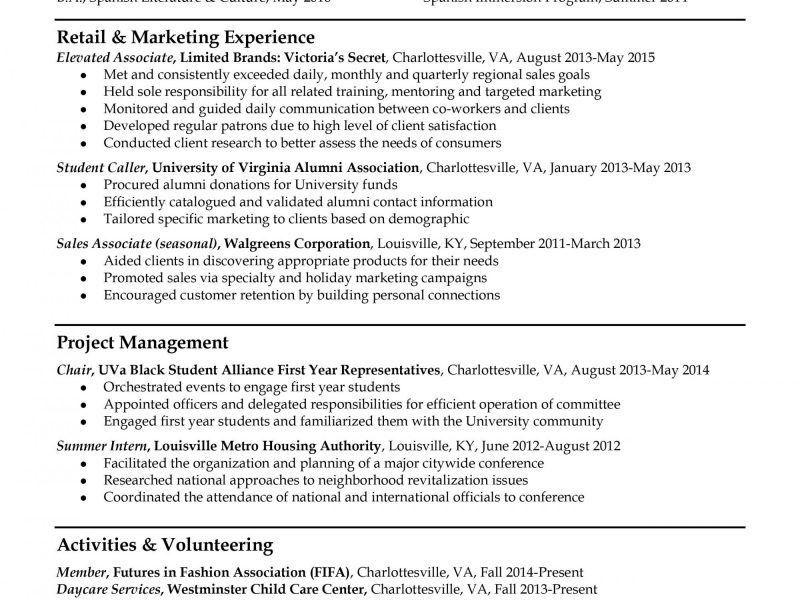 Smartness Inspiration Example Of Resume 14 Resume Samples - Resume ...