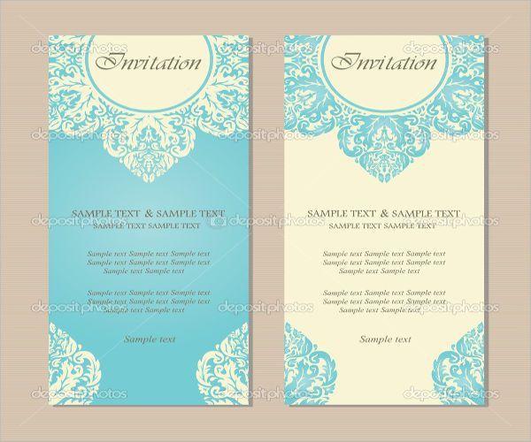 49+ Invitation Card Designs | Free & Premium Templates