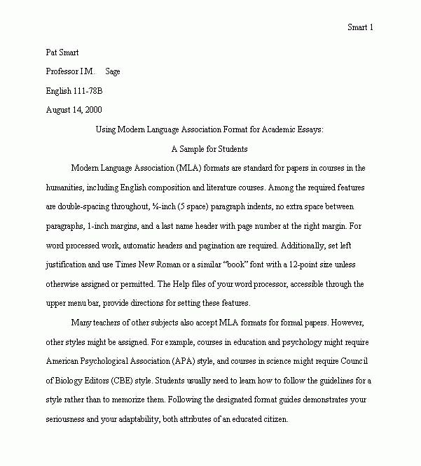 mla paper example purdue owl mla formatting and style guide mla  mla format examples modern language association mla essay