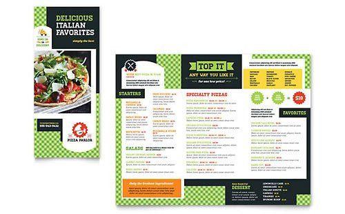 Italian Restaurant | Menu Templates | Food & Beverage