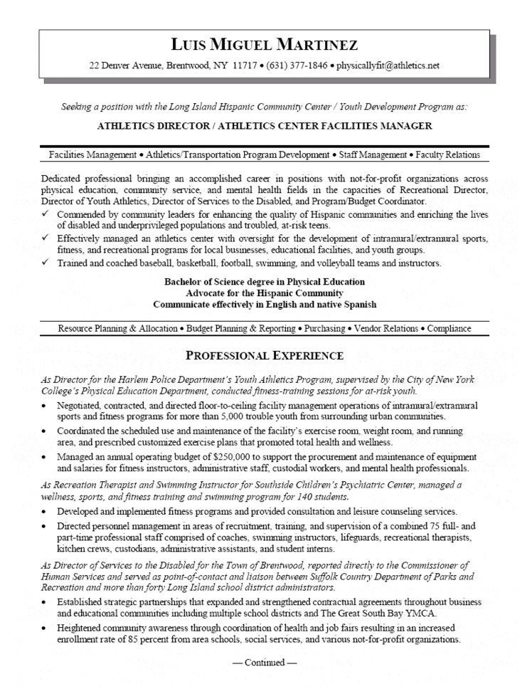 Director Resume Examples. Hr Executive Resume Sample Hr Director ...
