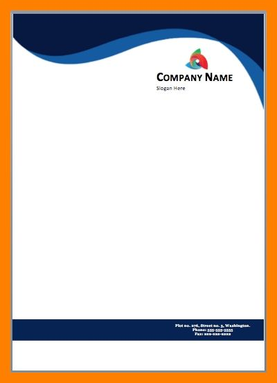 9+ free printable letterhead templates | cfo resumed