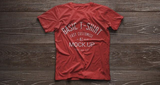 Psd Tshirt Mockup Template Vol2 | Psd Mock Up Templates | Pixeden