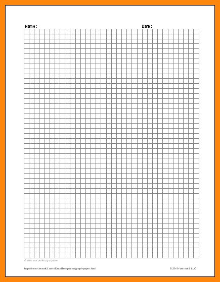 7+ graph paper template for word | math cover