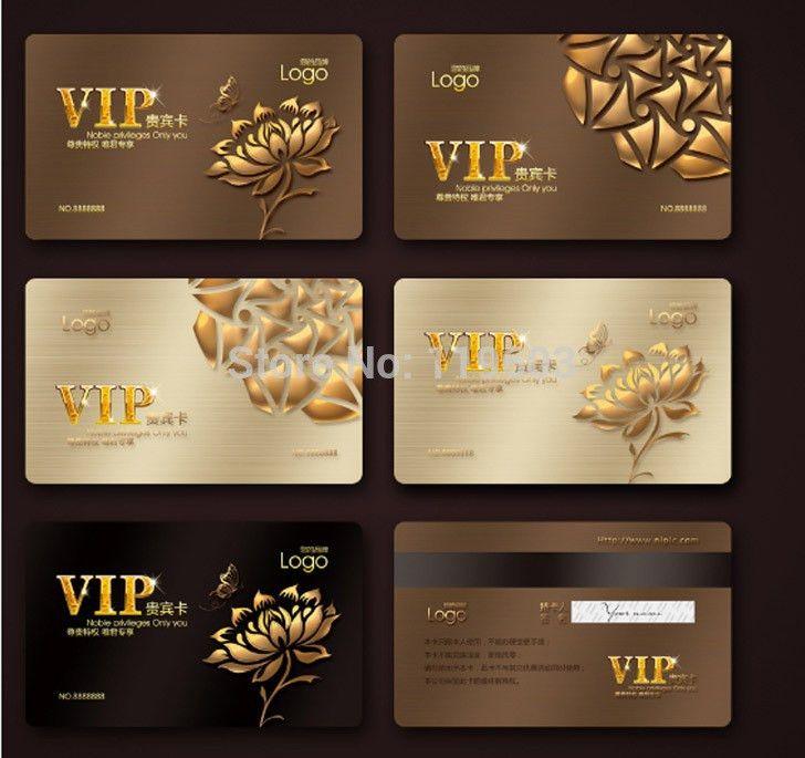 Free templates VIP Membership Card Design Manufacturer Pvc Swipe ...