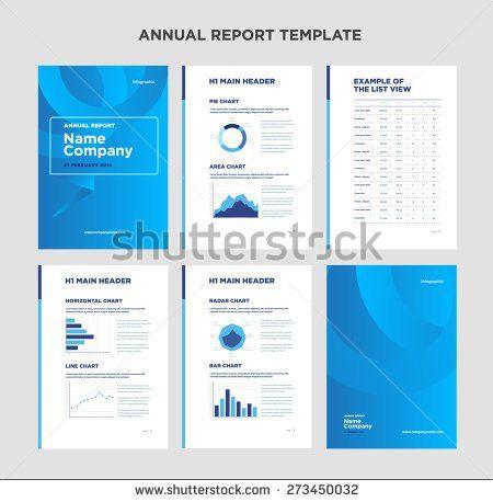Free Annual Report Design Vector - Download Free Vector Art, Stock ...