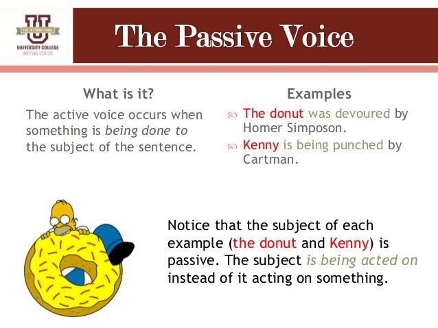 Understanding Active vs. Passive Voice