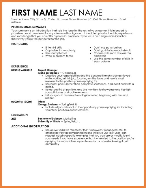 Is My Perfect Resume Free. free resume templates my perfect cover ...