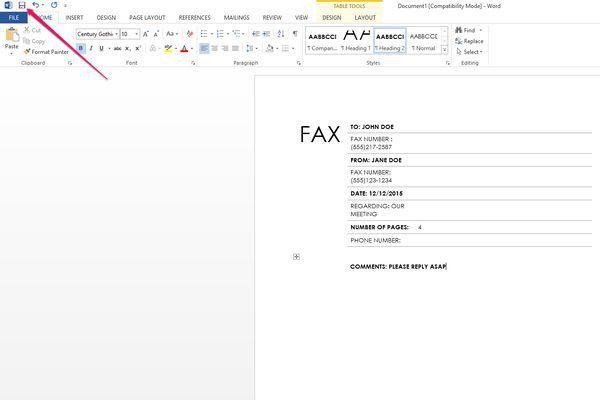 Fax Cover Sheet Template Microsoft Works - Shishita-world.com
