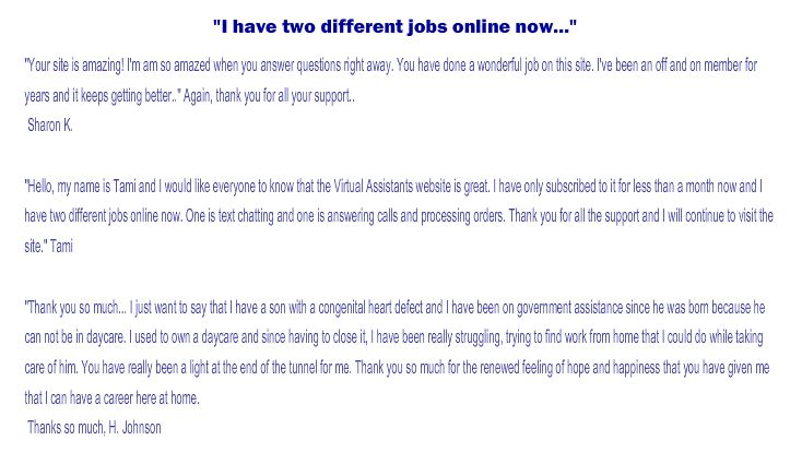 Become a Virtual Assistant and Apply for Virtual Jobs