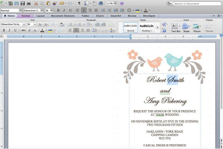 DIY Tutorial: FREE Printable Invitation and RSVP Card Template ...