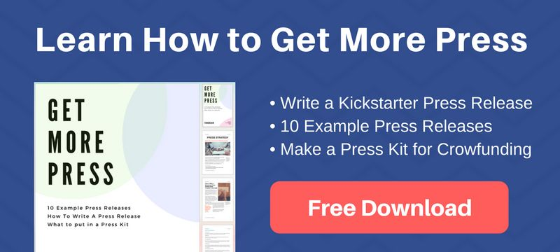How to Write a Kickstarter Press Release [Free Template & Example ...