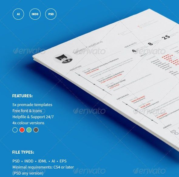 30 Best Free Resume Templates For Architects - Arch2O.com