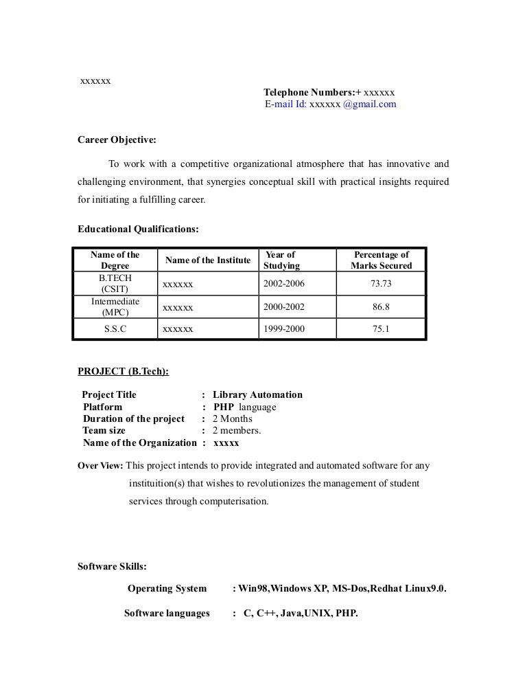 resume objective examples and writing tips. sample resume career ...