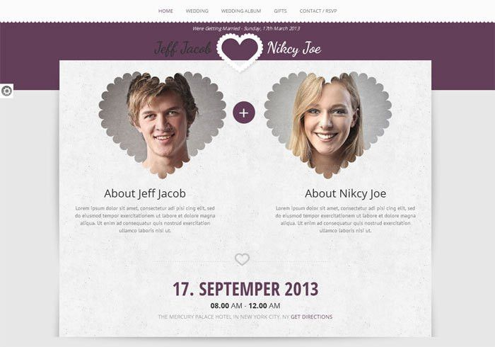 10 Best Premium Wedding Website Templates