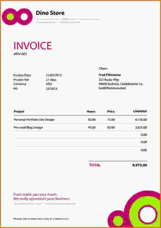 Download Payment Invoice Template Pdf | rabitah.net
