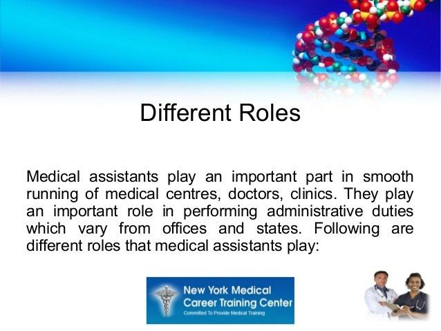 Tasks performed by professional medical assistant