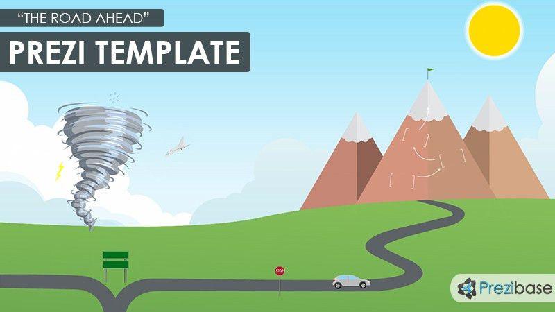 The Road Ahead Prezi Template | Prezibase