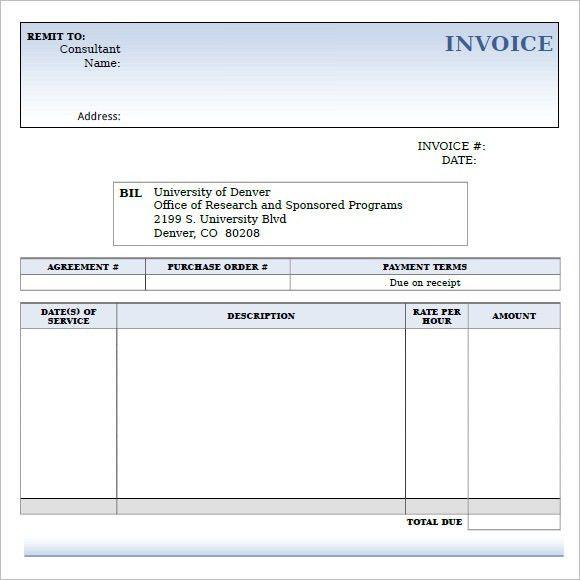 Download Invoice Template Ontario | rabitah.net