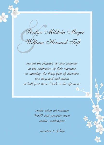 Sample Wedding Invitation Cards - iidaemilia.Com