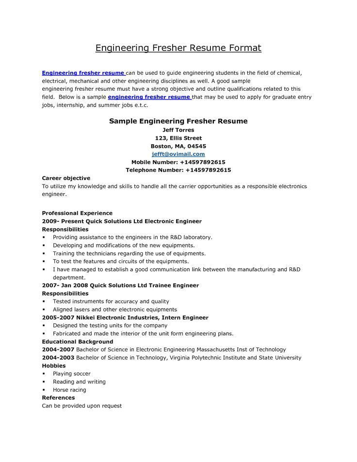27 best resume images on Pinterest | Resume ideas, Resume tips and ...