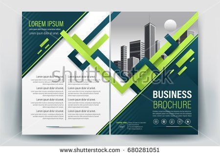 Vector Brochure Layout Flyers Design Template Stock Vector ...
