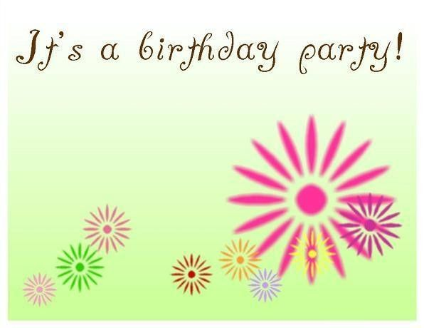 Birthday Invitation Templates Free - iidaemilia.Com