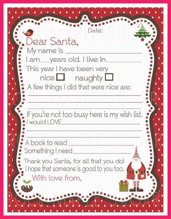 Stunning Christmas List Format Ideas - Best Resume Examples for ...