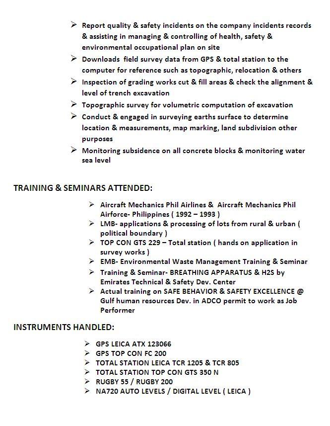 Land Surveyor Resume Uk / Sales / Surveyor - Lewesmr