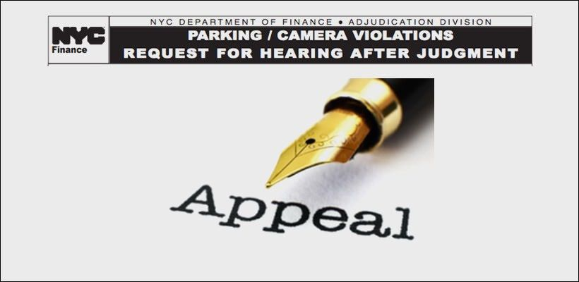 How to Win your NYC Parking Ticket Appeal