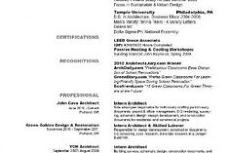 100+ [ Architecture Resumes ] | Examples Of Resumes 81 Stunning ...