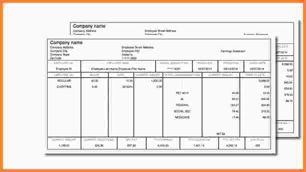 10+ free payroll check stub template | Samples of Paystubs