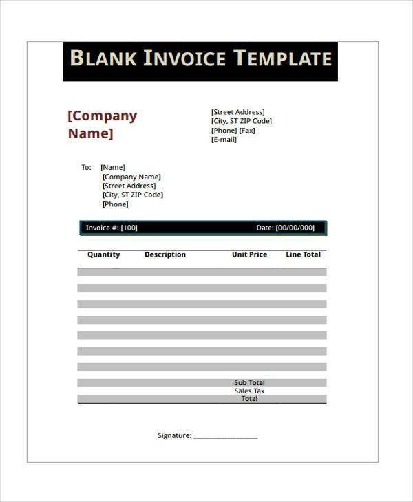 6+ VAT Invoice Templates - Sample, Example | Free & Premium Templates