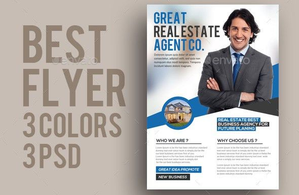 29 Cool Real Estate Flyer Templates – Desiznworld
