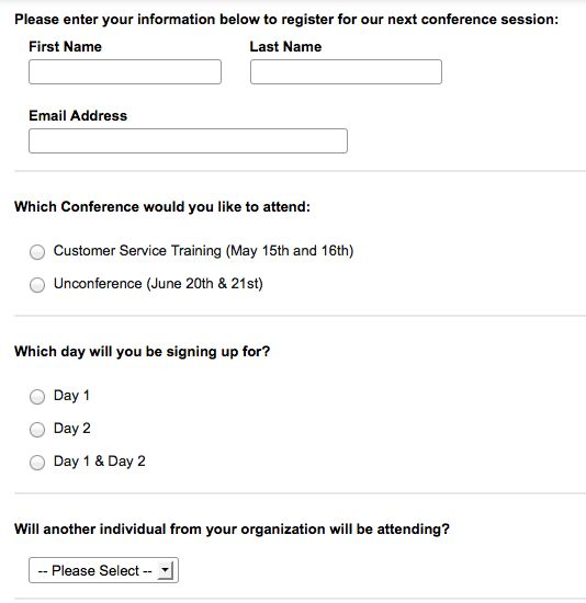 How To Optimize Your Event Registration Form