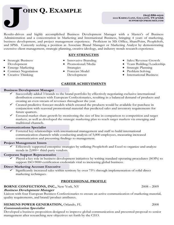 business development manager s stunning applied management resume ...