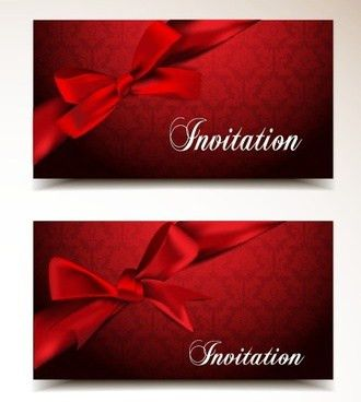 Red engagement invitation card free vector download (17,791 Free ...
