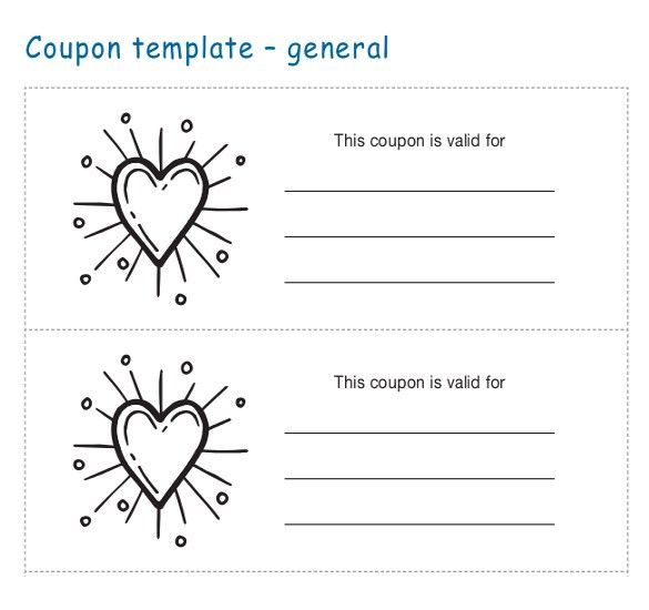 Coupon Templates – 25+ Free Word, PDF, PSD Documents Download ...