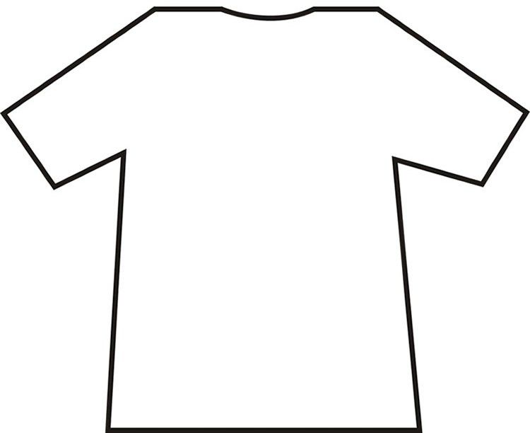 T Shirt Template Printable | Free Download Clip Art | Free Clip ...