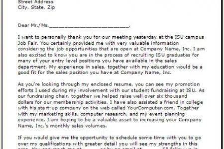 example of follow up letter after sending resume letter format ...