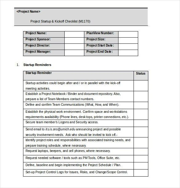 Microsoft word template checklist 30 word checklist template project checklist template word format checklist template word pronofoot35fo Image collections
