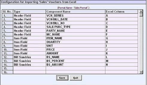 Excel to busy accounting software - Accounts Forum