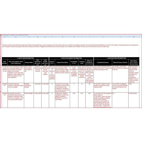 What Is a Risk Register? Explanation & Free Template
